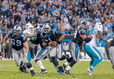 Editorial image of Dolphins Panthers Football, Charlotte, USA - 13 Nov 2017