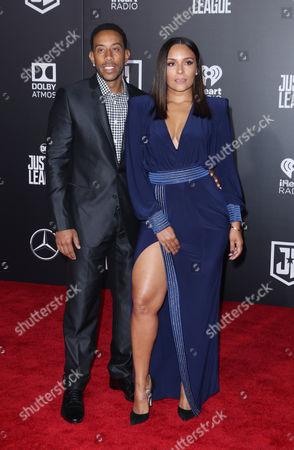 Chris Ludacris Bridges and Eudoxie Mbouguiengue