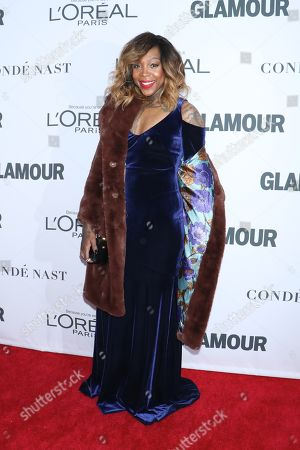 Editorial picture of Glamour Women of the Year Awards, Arrivals, New York, USA - 13 Nov 2017