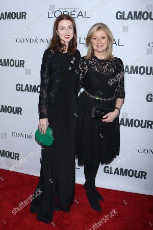 Stock Image of Isabella Huffington and Arianna Huffington