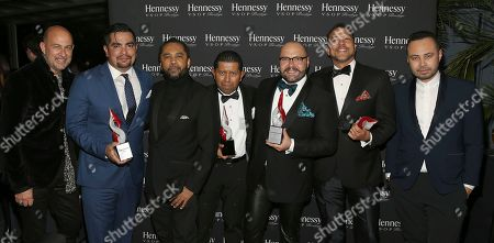 Editorial picture of 2017 HOMBRE Men of the Year Award Sponsored by Hennessy V.S.O.P Privil'ge, New York, USA - 13 Nov 2017