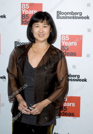 Designer and artist Maya Lin attends Bloomberg Businessweek's 85th Anniversary celebration at the American Museum of Natural History, in New York