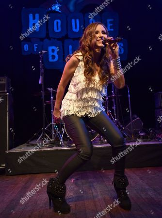 America Sierra performs at the Pop-Tarts Crazy Good Summer concert at the House of Blues, in West Hollywood, Calif. helping teens celebrate a #CrazyGoodSummer