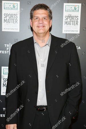 ESPN personality Mike Golic arrives at 'We Could Be King' Premiere at the Sunshine Cinema on in New York, NY
