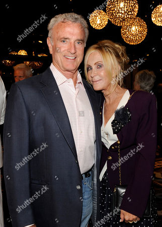 AUGUST 22: Actors Kevin Dobson (L) and Joan Van Arkn attend the Academy of Television Arts & Sciences 'Performers Peer Group Reception' at the Sheraton Universal Hotel on in Universal City, California