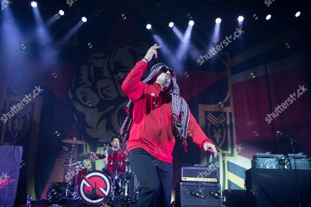 Prophets Of Rage - Brad Wilk (of Rage Against The Machine), B-Real (of Cypress Hill)