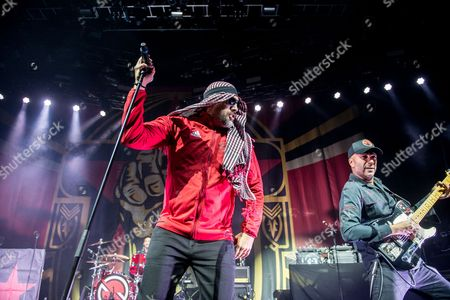Prophets Of Rage - Brad Wilk (of Rage Against The Machine), B-Real (of Public Enemy), Tom Morello (of Rage Against The Machine)