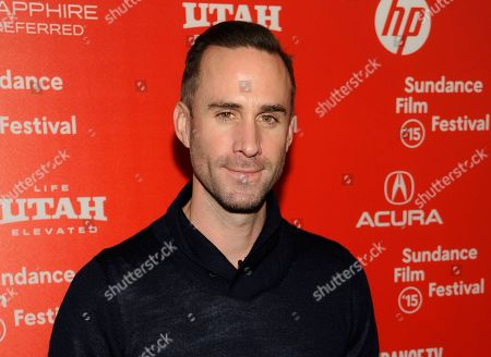 "Joseph Fiennes, a cast member in ""Strangerland,"" poses at the premiere of the film at the Egyptian Theatre during the 2015 Sundance Film Festival, in Park City, Utah. Joseph Fiennes will star as Michael Jackson in a TV drama set to broadcast later this year, it was reported on Wednesday, Jan. 27, 2016. The white British star of Shakespeare in Love plays the late King of Pop in Elizabeth, Michael and Marlon, alongside Stockard Channing as Elizabeth Taylor and Brian Cox as Marlon Brando"