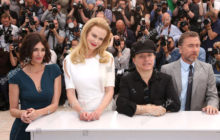 Actors Paz Vega, Nicole Kidman, Director Olivier Dahan and Tim Roth pose for photographers during a photo call for Grace of Monaco at the 67th international film festival, Cannes, southern France