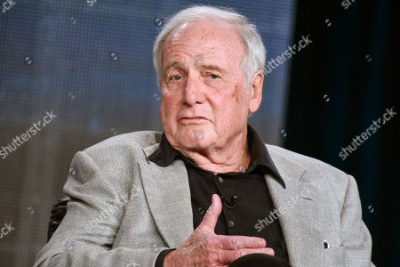 "Jerry Weintraub speaks at the HBO 2015 Winter TCA in Pasadena, Calif. Weintraub, the dynamic producer and manager who pushed the career of John Denver and produced such hit movies as ""Nashville"" and ""Ocean's Eleven,"" died, of cardiac arrest in Santa Barbara, Calif. He was 77"
