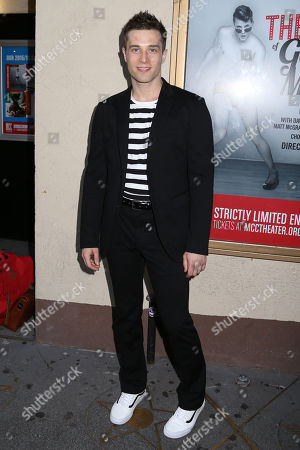 """Choreographer Paul McGill arrives at the Broadway opening night of the MCC Theater's """"The Legend of Georgia McBride"""" at The Lucille Lortel Theatre, in New York"""