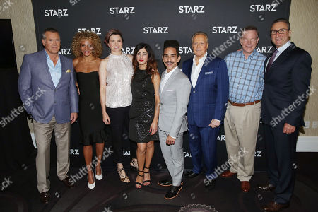 Editorial picture of STARZ 2016 Summer TCA Panel, Beverly Hills, USA - 1 Aug 2016