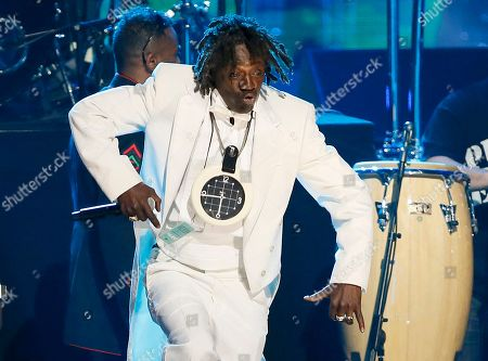 Flavor Flav of Public Enemy performs during the band's induction at the Rock and Roll Hall of Fame Induction Ceremony at the Nokia Theatre in Los Angeles. An illegal fireworks case against Flavor Flav has fizzled, and he won't be prosecuted for a Fourth of July bash he held last year. An aide to Clark County District Attorney Steve Wolfson cited lack of evidence, for the decision to drop the fireworks case against the 56-year-old entertainer whose legal name is William Jonathan Drayton Jr