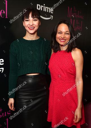 Erin Darke (L) and Lilli Stein