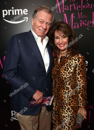 Helmut Huber (L) and Susan Lucci