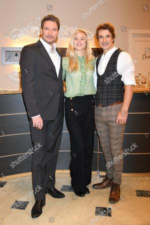 Dieter Bach, Larissa Marolt, Sebastian Fischer
