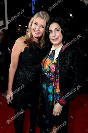 Deborah Snyder, Producer, Sue Kroll, President of Worldwide Marketing and Distribution, Warner Bros. Pictures,