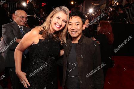 Deborah Snyder, Producer, James Wan