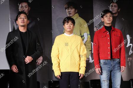 Ha Jung-woo, Cha Tae-hyun, Ju Ji-hoon