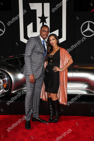 Stock Picture of Paul Pierce and Julie Pierce