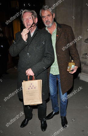 Stock Photo of Adrian Dunbar and Neil Morrissey