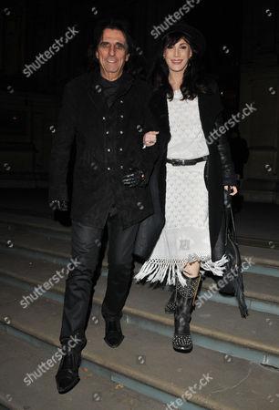 Alice Cooper and Sheryl Goddard