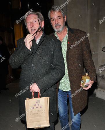 Stock Image of Adrian Dunbar and Neil Morrissey