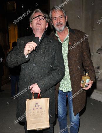 Adrian Dunbar and Neil Morrissey