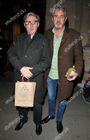 Stock Picture of Adrian Dunbar and Neil Morrissey