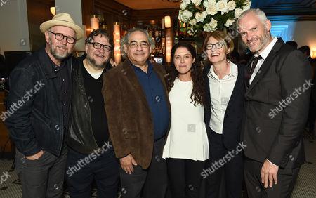 Jonathan Dayton, Guillermo Del Toro, Fox Searchlight President Steve Gilula, Amanda Lipitz, Martin McDonagh and Valerie Faris