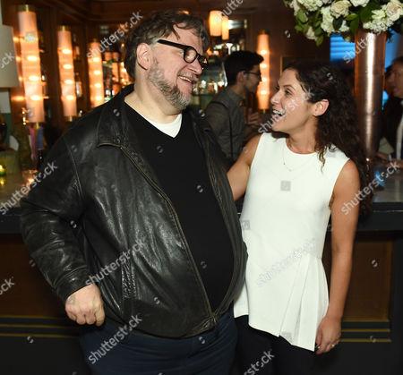 Stock Picture of Guillermo Del Toro and Amanda Lipitz