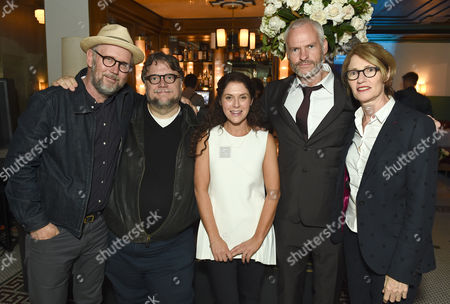 Jonathan Dayton, Guillermo Del Toro, Amanda Lipitz, Martin McDonagh and Valerie Faris