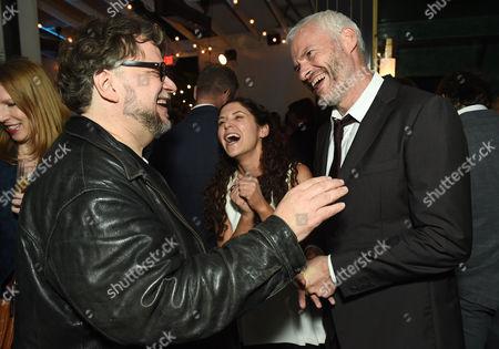 Guillermo Del Toro, Amanda Lipitz and Martin McDonagh