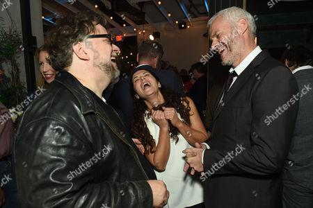 Stock Image of Guillermo Del Toro, Amanda Lipitz and Martin McDonagh