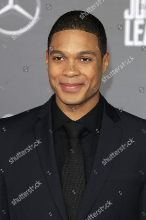 US actor/cast member Ray Fisher arrives for the World Premiere of Justice League at the Dolby Theater in Los Angeles, California, USA, 13 November 2017 (issued 14 November 2017). The movie opens in the US 17 November 2017.