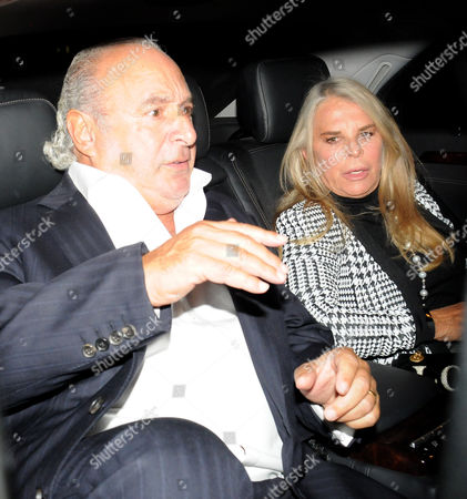 Sir Philip Green and Lady Lady Tina Green