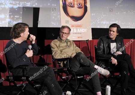 Chris Smith, Spike Jonze and Jim Carrey