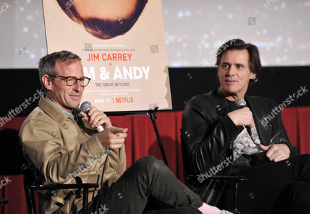 Spike Jonze and Jim Carrey