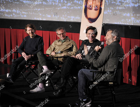 Chris Smith, Spike Jonze, Jim Carrey and Judd Apatow
