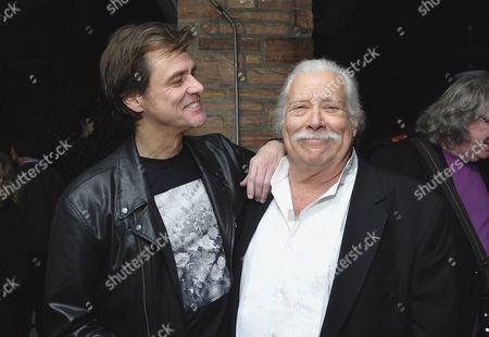 Jim Carrey and Bob Zmuda