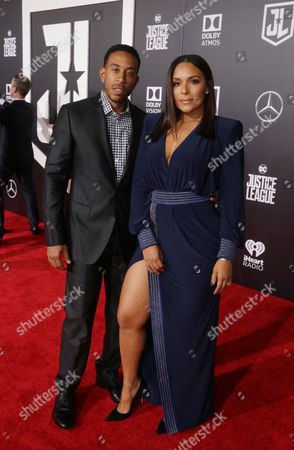 Ludacris and Eudoxie Mbouguiengue