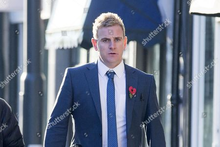 Teacher Andrew Kellett arrives at Wakefield Coroners Court this morning for the second day of the inquest into the death of Leeds teacher Ann Maguire at Wakefield Coroners Court.
