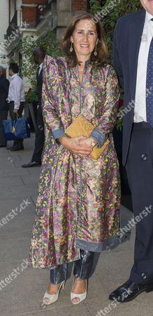 Marina Wheeler arrives at the Indian Journalist Association Dinner