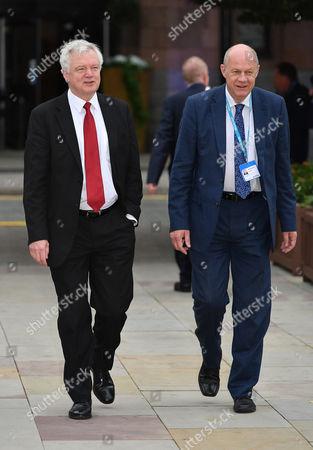 David Davis and Damien Green MP.