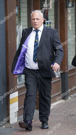Robert Webb, appears for sentencing at Kingston Crown court