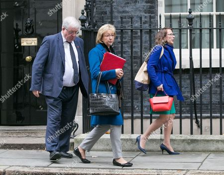 Sir Patrick McLoughlin, Chancellor of the Duchy of Lancaster, Andrea Leadsom, Lord President of the Council, and Leader of the House of Commons and Baroness Evans of Bowes Park, Lord Privy Seal, and Leader of the House of Lords and