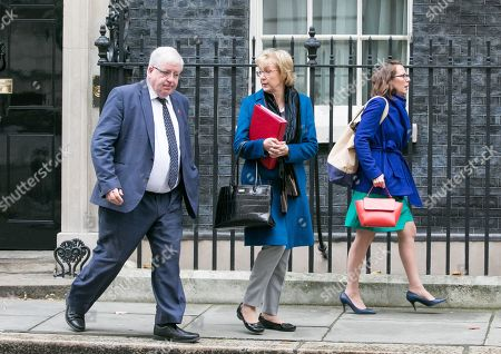 Sir Patrick McLoughlin, Chancellor of the Duchy of Lancaster, Andrea Leadsom, Lord President of the Council, and Leader of the House of Commons and Baroness Evans of Bowes Park, Lord Privy Seal, and Leader of the House of Lords