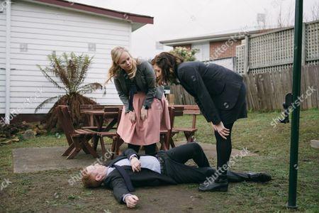 Luke McGregor, Katie Robertson, Celia Pacquola