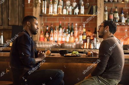 Stock Photo of Jay Ellis, Wade Allain-Marcus