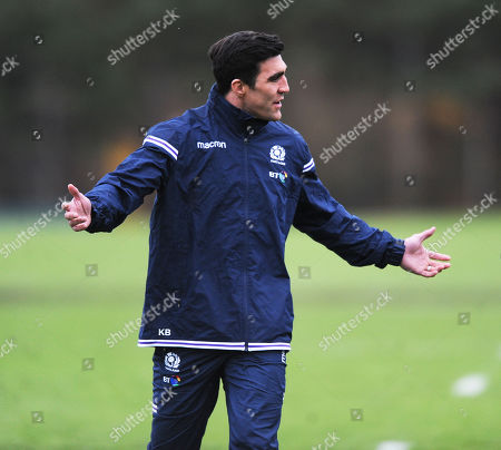 Kelly Brown - Scotland assistant coach.
